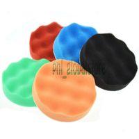 Wholesale 5x Inch Waffle Polishing Buffer Pad Foam Buffing pad Mixed Kit For Car Polisher