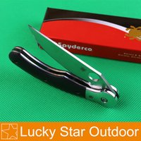 Wholesale Spyderco C36 Military Arm Tactical Folding Knife Tools CR19MOV HRC Blade G10 Handle Outdoor Pocket Knifes