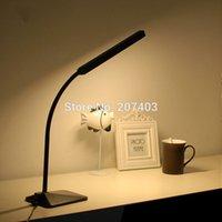 adjustable desk frame - Led desk lamp v v dim dimmable eye protecting light ofhead reading lamp Silicone frame adjustable