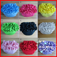 Wholesale Many Styles DHL Baby Girls PP pants girls Lace shorts baby girls ruffle lace tutu skirts Lace PP underpants toddler girls bloomer clothing