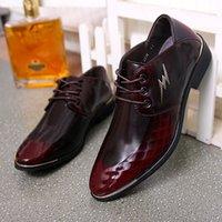 venda por atacado sapatos de luxo-GRIMENTIN 2016 italiana de luxo designer mens formais vestir sapatos de couro genuíno preto apartamentos básicos para o tamanho do escritório homens casamento