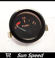 Wholesale 2 quot MM ELECTRICAL FUEL LEVEL GAUGE BLACK FACE WITH FLOAT AUTO GAUGE