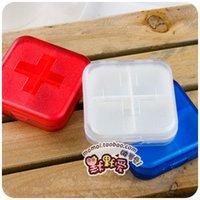 bamboo distributors - Silent love MINI very small portable tablet box kit kit medicine distributor portable drug storage box