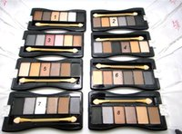 Cheap Hot Make up Eyeshadow Palette A58 6colors 8types Comestic Easy to color Eye shadow kit 12pcs lot