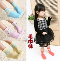 baby bubbles mouth - Meia Infantil Baby Socks Children s Socks C601 Zhuo Anchor On Cotton Goods Love Bubble Mouth Thick Terry Towel And