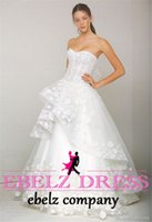 Wholesale 2015 Sexy Sweetheart Princess Hand Make Flower Lace Victorian Bride Gowns crystals Applique Bead Mermaid Wedding dresses Evening gown W10
