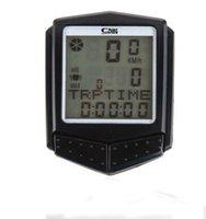 Wholesale Cycling Bike Bicycle LCD Computer Speedometer Waterproof Odometer heart rate wireless auto wake up bike computer