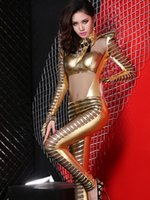 Cheap Clubwear rock chain Best Leopard Leather stage clothing