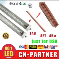 Wholesale X50 From manufacturers sale UL CE ROHS Super Bright ft T8 FA8 Single Pin LED Tube Lights W SMD mm feets LED Fluorescent Bulbs