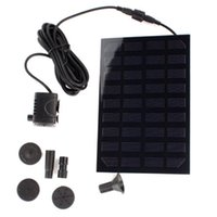 air panel filter - Brushless Water Pump Panel Solar Power Rockery Fountain Cycle Pond Watering Pool