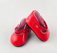 ballet shoes for dolls - factory price Environmental protection quot INCH DOLL SHOES for AMERICAN GIRL Red ballet shoe b382