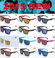 Cheap Hot sell New Style 2015 KEN BLOCK HELM Brand Cycling Sports Outdoor Men Women Optic Sunglasses 12 color