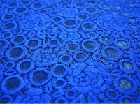 french lace wholesale - royal blue guipure lace french lace fabric New technology of high lace voile lace fabrics sapphire embroidery lace professional