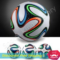 gliders - 2014 WORLD CUP BRAZUCA FINAL MATCH SOCCER BALL SIZE Brasil NEW Top Glider Match Ball Brazil soccer ball