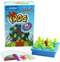 Wholesale Frog The Peg Solitaire Jumping Game Board Games Children Intellect Chess Game Toys