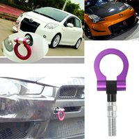tow hitches - CAR Racing Rear Tow Towing Hooks for BMW Universal New Purple Car Universal Racing Tow Hook Aluminum material tow hook hitch trailer