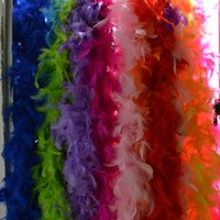 Wholesale 80 M g Fluffy Feather Boa Wedding Party DIY Craft Decoration Costume Dress UP Decor Accessories