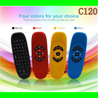 Wholesale Wireless Fly Gaming Air Mouse C120 keyboard Android Remote Control Ghz Wireless Game Keyboard For Smart Tv Box Mini PC