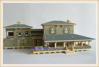 american wooden toys - Educational D Wooden House Toy DIY Luxury Beautiful American Villa Construction Toy Model For Children