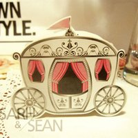 Wholesale Mini Carriage Wedding Favor Candy Boxes wedding gift box