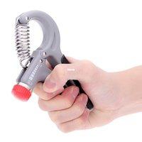 Moda caliente 10-40 Kg Adjustable mano agarre muñeca Fuerza del antebrazo fuerza de entrenamiento de la mano Gripper Power Fitness Ejercitador de la mano Heavy Grip Grips