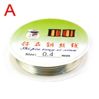 Cheap Wholesale-Min.order is $15 Free shipping ,best silver color copper wire for jewelry making accessories ,PT-347