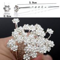 Wholesale New Wedding Bridal Pearl Flower Hair Pins Hair Clips Bridesmaid Hair Accessories