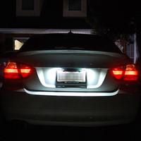 Wholesale LED SMD Led License Plate Light Lamps for BMW series E46 D Auto Car Led Light Bulbs v White K k