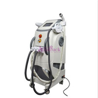Wholesale E light IPL Yag Laser RF beauty machine for Hair Removal Tattoo Removal Body Face Lifting Rejuvenation Wrinkle Removal Skin Tightening