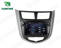 accent steering wheel - Quad Core HD Screen Android Car DVD GPS Navigation Player for Hyundai Verna Solaris Radio steering wheel control