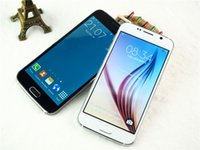 Wholesale New S6 G920F Bit Quad Core MTK6582 GHz show G LTE GB RAM GB ROM inch Android Lollipop MP Smart Phone