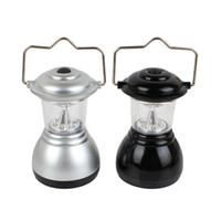 achat en gros de engrenage tête conduit-6 LED Tente Portable Lampe Camping Lanterne Lumière Tête de lampe lampe de camping en plein air Lampes Lanternes Tentes Lampe d'extérieur Lumière de vitesse Randonnée Lantern