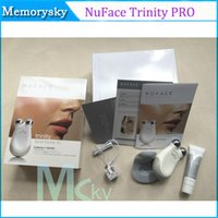 Wholesale New Face care NuFace Trinity Pro Mini facial toning device beauty face massager electric roller eletronicos