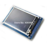 Wholesale 3 quot TFT LCD Module Display with Touch Screen Panel with PCB Adapter Blue SSD1289 with SD Card Slot for Arduino Uno