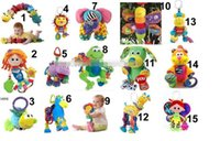 Wholesale Lamaze Educational Toys Baby TOLO TOYS crib toys lamaze toys Baby Toy baby Toys mixed designs BY0000