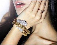snake bracelet - bracelet beauty women Europe America grace snake bracelet E002 pc
