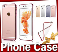 technology - iPhone S Plus Case Ultra Thin Shock Electroplating Technology Soft Gel TPU Silicone Case Cover iPhone iphone s clear Transparen tpu case