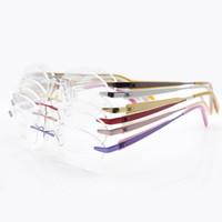 prescription eyeglasses - Rimless frames Titanium Eyeglasses For Men Women Eyeglasses Prescription Eyewear Frames Hot Sales Fashion styles