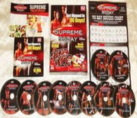Wholesale SUPREME DAY HD DVDS SYSTEM INSANE MUSCLE CONFUSION WORK OUT PROGRAM FITNESS SUPREME DAY DHL freeshipping