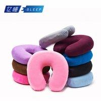 best travel pillow - Novelty hot versatile memory pillow Neck massage Travel healthy pillows best quality Drop Shipping