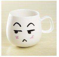 best water container - ml Creative Cartoon Face Expression Water Container Cute Cup Ceramic Coffee Mug Travel Hot Selling Birthday Best Gift