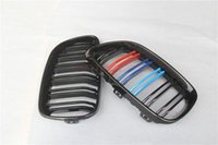Wholesale Car styling ABS Three Colors M look style Dual Slat Front Grille For BMW F22 Series