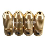 Wholesale 2 mm Brass Electric Motor Shaft Clamp Fixture Chuck Mini Small For mm mm Drill