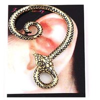 Wholesale 2015 Ear Cuff Black Cuff White Real Explosion Models In Europe And America Trade Meandering Fashion Earrings Hanging Earring Factory Outlets
