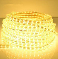 Wholesale Waterproof Flexible Led Strips V V SMD LED M M Led Strip Light Rope Christmas Decoration Holiday Party Light with Connector