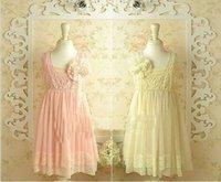 fairy - teenger girl dress children party dress summer New design Korean High grade girls sleeveless lace pearl Hook Subtle sweet dress fairy TR70