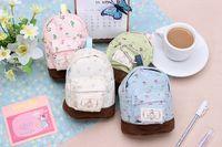 Wholesale Stationery Bag Multifunctional big capacity pencil case flower school pen bag pattern Cute storage box best quality free ship