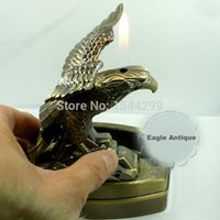 antique smoking accessories - Eagle Antique Cigarette Ashtray Silicone Lighters amp Smoking Accessories Home Decoration With Lighter Function Gifts For Men