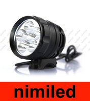 bycicle - 6x Cree XM L T6 LED Bike Light CREE Lumen Bycicle Light HeadLamp With V Battery Pack HSA1995