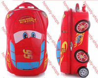 Wholesale cars D fashion Outdoor children boy girls luggage suitcase variety of cartoon quot Pull rod box Bumblebee